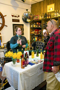 Wine tasting from Marjim Manor, March 31, 2012