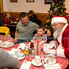 Breakfast With Santa at Bandana's Bar & Grill, December 23, 2017 in Youngstown, NY.