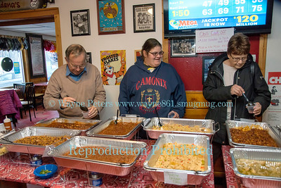 Chili Cook Off at Bandana's Bar & Grill to benefit the Youngstown Free Library, February 4, 2018.