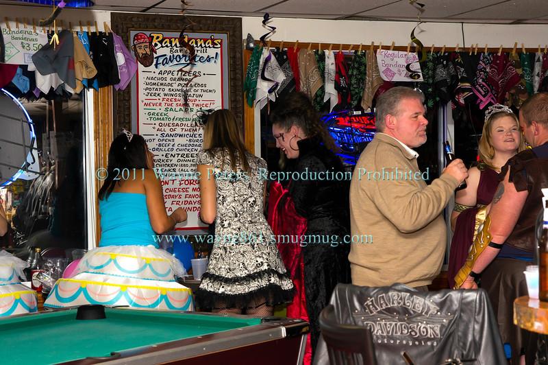 Halloween Party at Bandana's Bar and Grill, October 29, 2011