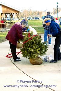 2006 Christmas in Faulkner Park, Youngstown, New York.