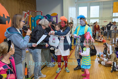 The 2017 Kids Halloween Party & Parade in Youngstown, NY.