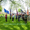 Memorial Day Service at Old Fort Niagara, May 26, 2014.