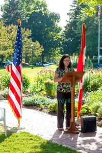 Dedication of the Youngstown Peace Garden on June 29, 2012
