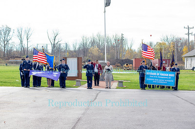 Veteran's Memorial Dedication