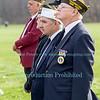 Veteran's Memorial Marker Dedication in Veteran's Park, Youngstown, NY on November 12, 2012.