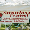 Strawberry Festival at St. John's Episcopal Church, June 18, 2016, in Youngstown, NY.
