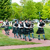 MacKenzie Highlanders Pipe Band in Concert June 29, 2012 in Youngstown, NY.