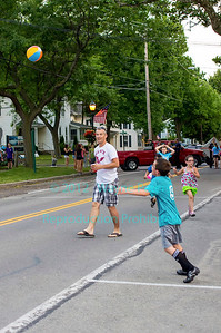Street Dance in Youngstown, NY on June 23, 2012