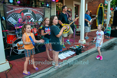 The 2014 Beginning of Summer Street Dance in Youngstown, NY