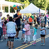 Beginning of Summer Street Dance in Youngstown, NY on June 23, 2016.