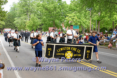 Youngstown NY, parade and field days