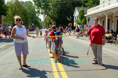 Labor Day parade and field days 2012 in Youngstown, NY