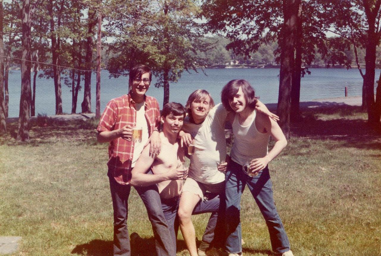 Your original hipster dad's  crew of dirt balls.