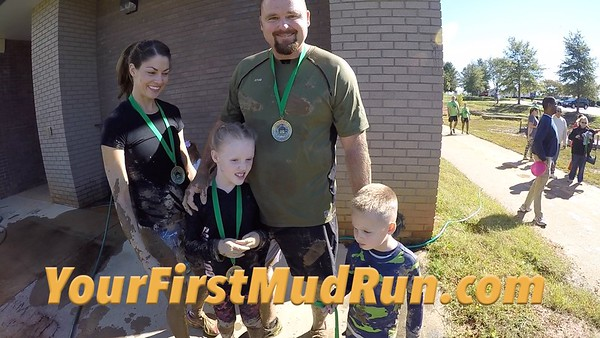2016 Your First Mud Run in Raleigh North Carolina 10/9/2016