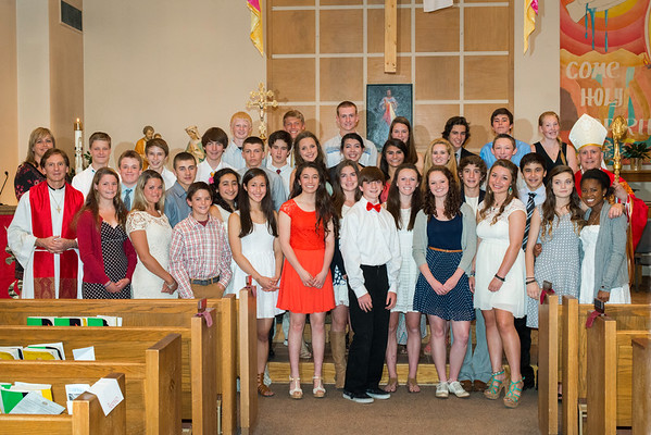 Holy Name Confirmation 2014