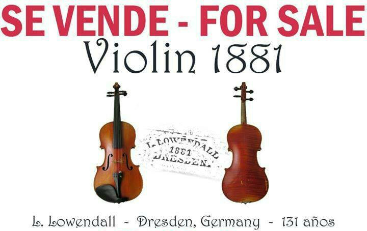 "VIOLIN - Antique (1881) Straduarius - Lowendall's celebrated Conservatory Violin from Dresden, Germany (no bow)<br /> <br /> PRICE: $5,000-U.S.$ - BUT - REALLY NEED to sell NOW - so make an offer.<br /> <br /> LOCATION: Heredia (Santo Domingo)<br /> <br /> CONTACT: ThingsForSaleInCostaRica@gmail.com<br /> <br /> <br /> Check out other things we have at:<br /> HIGH END ITEMS: <a href=""http://saronggoddess.com/EstateSale-Escazu"">http://saronggoddess.com/EstateSale-Escazu</a><br /> UNIQUE THINGS: <a href=""http://saronggoddess.com/ThingsForSaleCR"">http://saronggoddess.com/ThingsForSaleCR</a>"