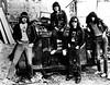 PRESS-Danny Fields, Ramones in alley behind CBGB, 1977