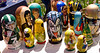 Hand painted nesting dolls for sale at a the Tulip Time Festival in Holland, Michigan