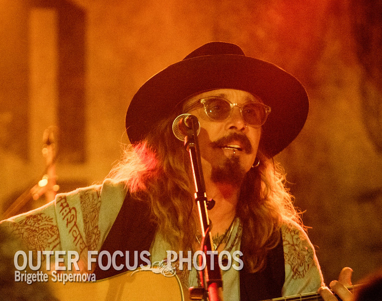 Singer and songwriter John Corabi, who briefly fronted the Rock band Motley Crue, performs live at the Cubby Bear Lounge in Chicago, Illinois on June 14, 2013.