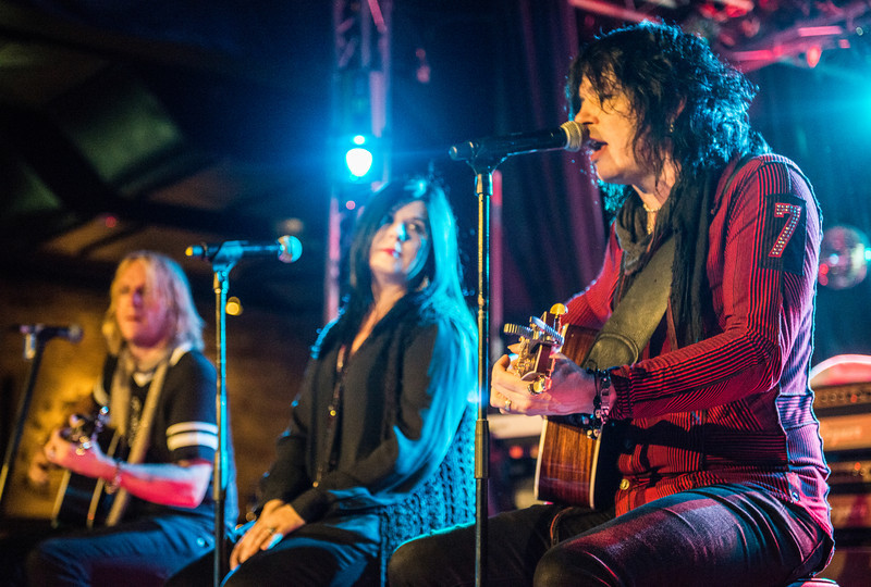 Singer and songwriter Tom Keifer, who also fronts the Rock band Cinderella, performs live at the Cubby Bear Lounge in Chicago, Illinois on June 14, 2013.