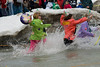 The Polar Plunge is an annual fundraising event in Chicagoland, raising funds for Special Olympics and Special Children's Charities. Participants often dress in costumes as they leap in to the frigid 34 degree waters of Lake Michigan. Similar events are held around the country, benefiting Special Olympics.