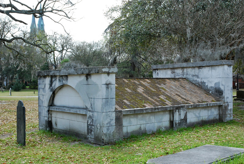 Savannah, Georgia. Historic District, Colonial Park Cemetery
