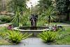 Savannah, Georgia. Historic District, water fountain.