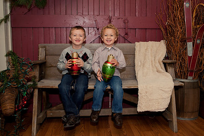 Noah and Ethan Christmas 2012