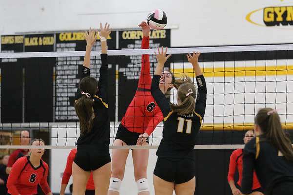 West Branch Volleyball at Mid-Prairie