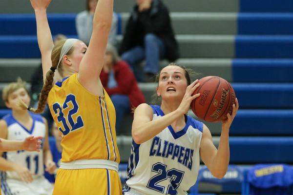Benton at CCA Basketball