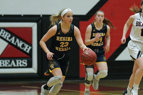 Regina at West Branch Basketball (Girls)