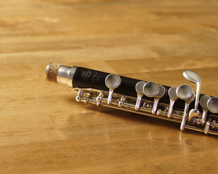 "Di Zhao piccolo model DZP-201 - Grenadilla wood headjoint and body with silver-plated mechanism. Excellent condition. Well cared and recently was fully serviced  by authorized Di Zhao distributor and repair center ""The Flute Loft"" in 9/2019.  (supporting documents available)<br /> <br /> 9 Pads<br /> Headjoint Cork replaced<br /> Tenon Cork replaced<br /> (2) key cork replaced <br /> Complete body and bore clean and oil<br /> complete bench test and adjustment of all parts<br /> <br /> Sells New $1587.00<br /> Selling for $800 + shipping  <br /> Contact Frank@alamopics.com or Phone/Text 210.386.2775"
