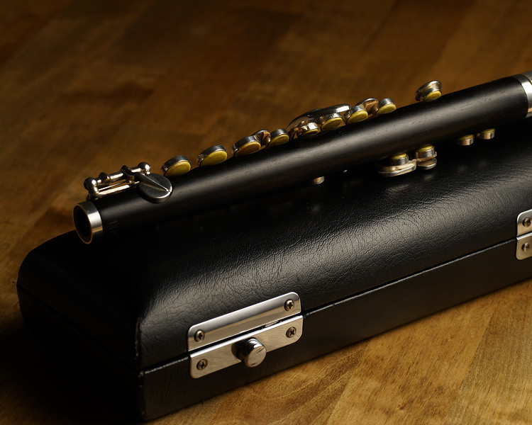 """Di Zhao piccolo model DZP-201 - Grenadilla wood headjoint and body with silver-plated mechanism. Excellent condition. Well cared and recently was fully serviced  by authorized Di Zhao distributor and repair center """"The Flute Loft"""" in 9/2019.  (supporting documents available)<br /> <br /> 9 Pads<br /> Headjoint Cork replaced<br /> Tenon Cork replaced<br /> (2) key cork replaced <br /> Complete body and bore clean and oil<br /> complete bench test and adjustment of all parts<br /> <br /> Sells New $1587.00<br /> Selling for $800 + shipping  <br /> Contact Frank@alamopics.com or Phone/Text 210.386.2775"""