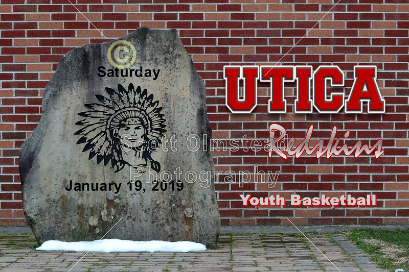Utica Redskins Youth Basketball - Saturday, January 19, 2019