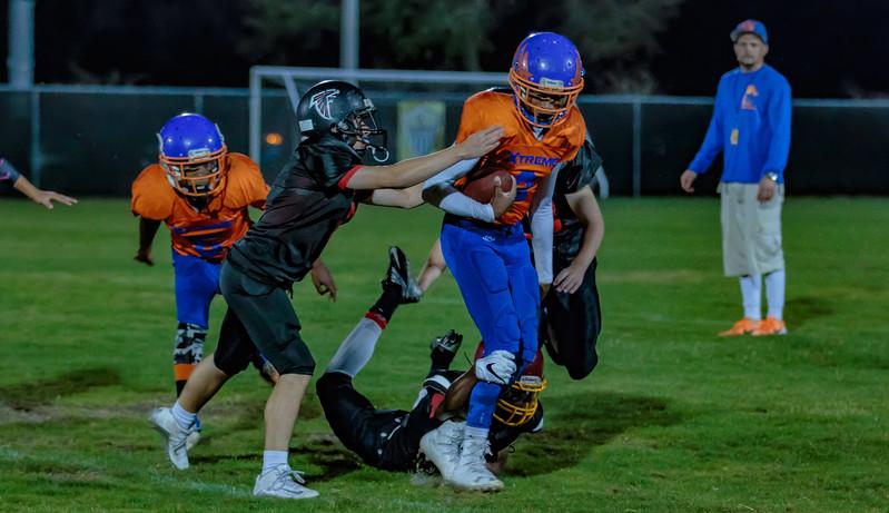 3-17-2017 Xtreme Football Varsity vs  Hawks-4720