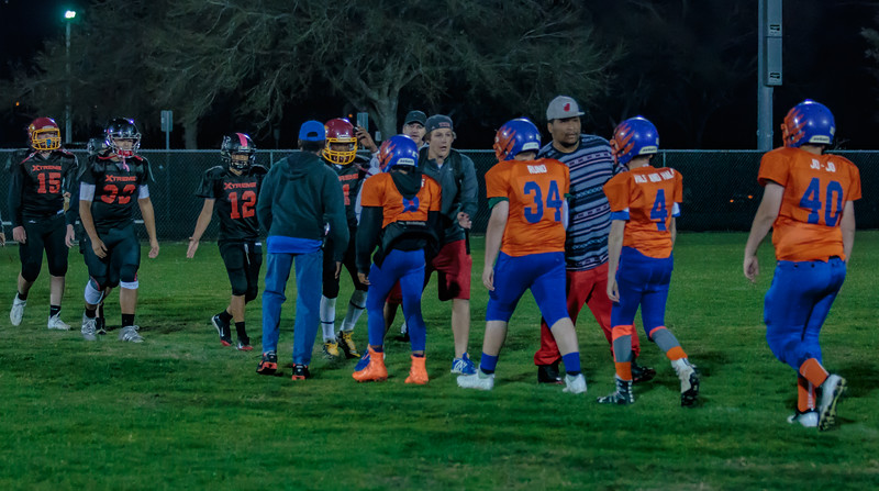 3-17-2017 Xtreme Football Varsity vs  Hawks-5024