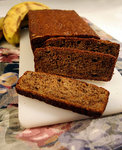 Barley Banana Bread