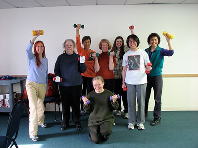 Leslie Shallcross StrongWomen class in Anchorage.