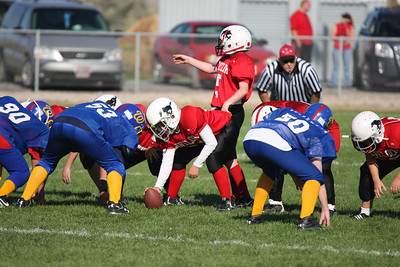 2010-10-09 Youth f-ball Red vs Winn. Blue