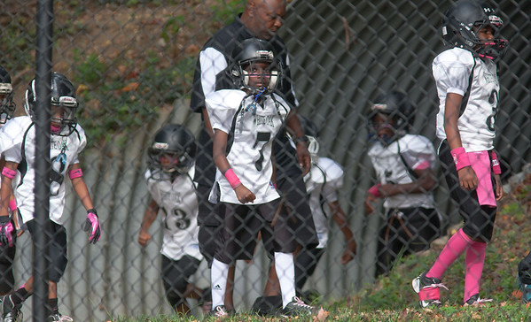 Pop Warner Warriors Homecoming Day:  Mighty Mites vs. Northwest Bulldogs