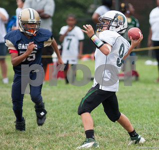 Damascus Football vs Silver Spring Saints:  August 25, 2012