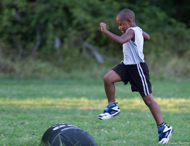 Silver Spring Saints:  First Day of Fall 2012 Season Practice