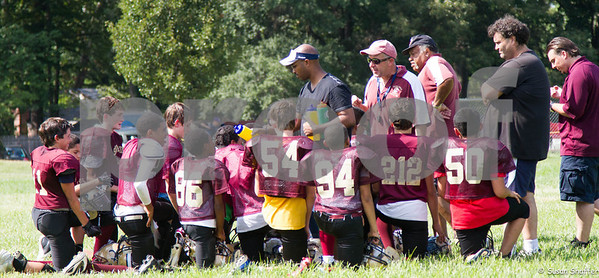 Silver Spring Saints/Maplewood Scrimmages:  August 18, 2012