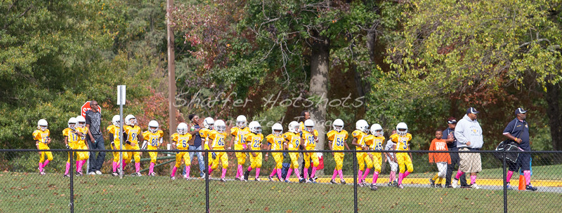 White Oak Warriors Homecoming:  Jr. Peewee vs Northeast Chargers