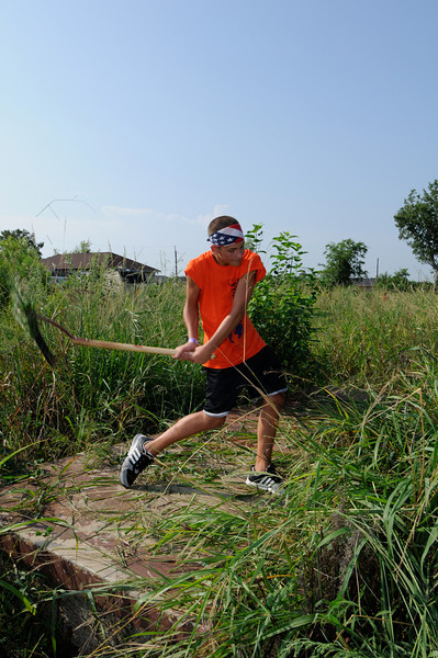 Lower 9th Ward Service Project   Ben Nickey from Evangelical Zion Lutheran in Middletown, MD