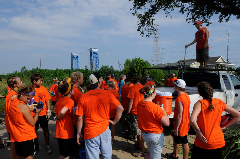 Lower 9th Ward Service Project