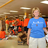 service project -  school supplies for elementary students - led by Sarah Massey