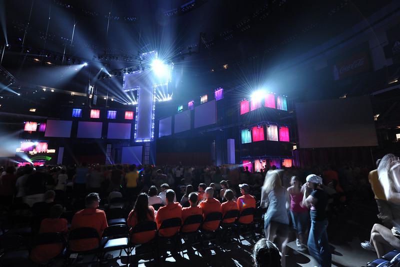 "The Friday evening program at the Superdome.  copyright © 2009, Erik Mathre, <a href=""http://www.eventpixels.com"" target=_blank>EventPixels.com</a>, <a href=""mailto:erik@eventpixels.com"" target=_blank>erik@eventpixels.com</a>"