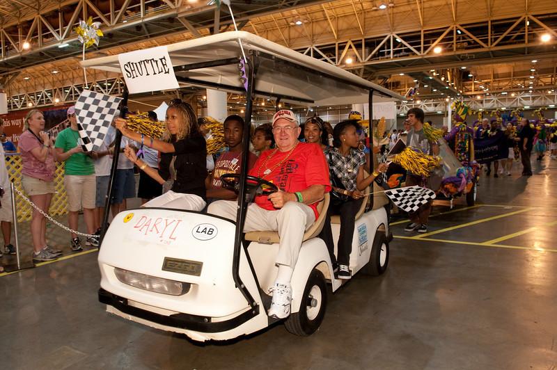 "The Interactive Center. A parade down Canal Street.  copyright © 2009, Erik Mathre, <a href=""http://www.eventpixels.com"" target=_blank>EventPixels.com</a>, <a href=""mailto:erik@eventpixels.com"" target=_blank>erik@eventpixels.com</a>"